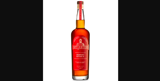 Lost Lantern — a Vermont-based company that markets one-of-a-kind American whiskies — will offer 136 bottles of Cask #10 Ironroot Republic Texas Straight Bourbon Whiskey. - COURTESY PHOTO / LOST LANTERN