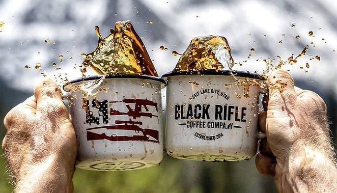 San Antonio-tied Black Rifle Coffee has denounced extremists, and the far right is big mad about it. - INSTAGRAM / BLACKRIFLECOFFEE