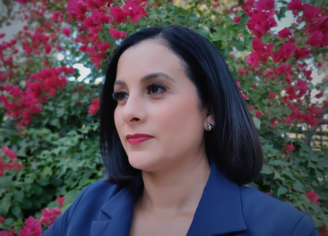 Ina Minjarez is one of roughly 60 state Democratic lawmakers who flew from Austin to Washington D.C. earlier this month to break quorum. - JADE ESTEBAN ESTRADA