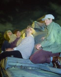 Alternative blues band Houndmouth. - PHOTO COURTESY LONE STAR BREWING