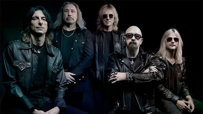 Judas Priest, who will perform in San Antonio on Friday, October 12, are one of the acts for which Live Nation is selling $20 tickets. - FACEBOOK / JUDAS PRIEST