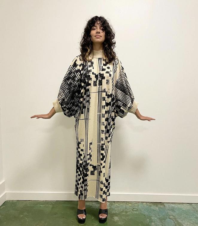 San Antonio-based designer Angelina Mata hosts weeklong luxury pop-up shop in Southtown. - INSTAGRAM / SONSUZSTYLE