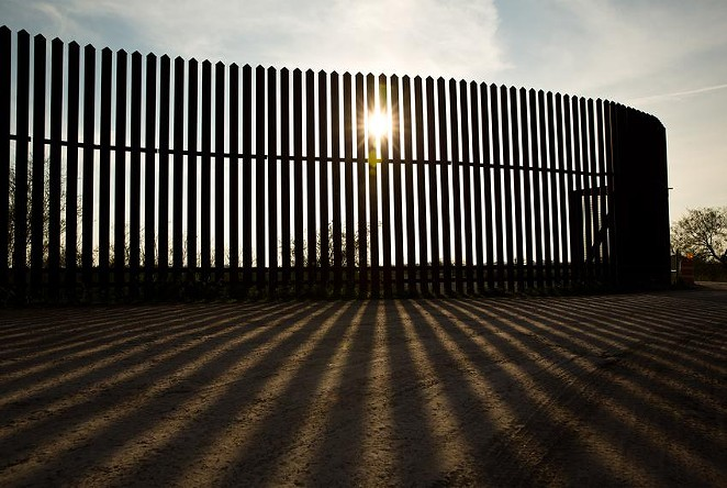 An incomplete border wall along the Rio Grande River in South Texas, ordered under the George W. Bush administration, has had environmental and cultural impacts. - TEXAS TRIBUNE / CALLIE RICHMOND