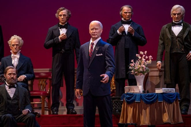 Joe Biden's presidential animatronic has been added to the Hall of Presidents. - COURTESY PHOTO / DISNEY