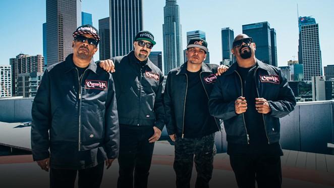 Rap heavyweights Cypress Hill hit up New Braunfels' Whitewater Amphitheater on Sunday. - COURTESY PHOTO / CYPRESS HILL