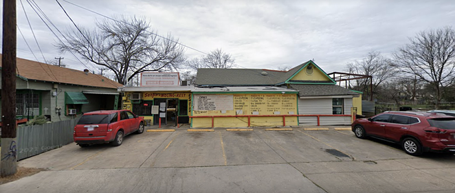 A fire broke out at Sergio's Molino on SA's West side around 2:30 a.m. Sunday. - SCREEN CAPTURE / GOOGLE MAPS
