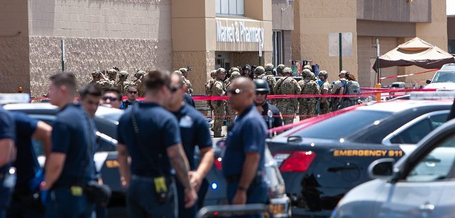 The 2019 racially motivated shooting at an El Paso Walmart left 23 people dead and dozens more wounded. - EL PASO MATTERS