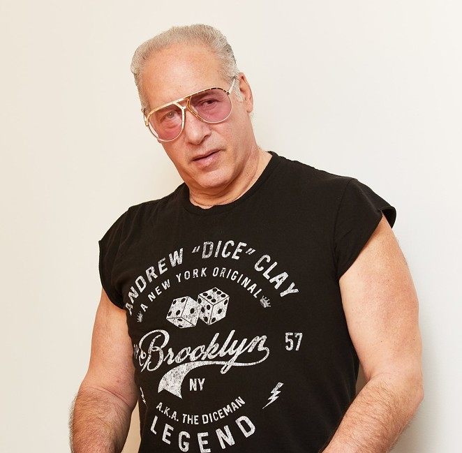 Comedian Andrew Dice Clay will perform at the AT&T Center's Terrace Club on August 12-13. - COURTESY PHOTO / ANDREW DICE CLAY