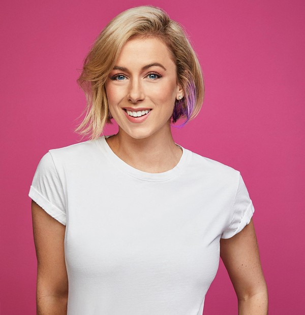 Iliza Schlesinger brings her Back in Action tour to San Antonio on Friday. - COURTESY OF TOBIN CENTER FOR THE PERFORMING ARTS