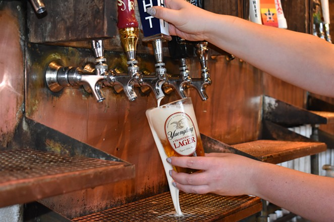 Yuengling's lager is now available on draft at a number of San Antonio drinkeries. - PHOTO COURTESY GLAZER'S BEER AND BEVERAGE OF TEXAS