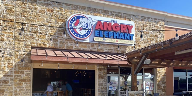 The team behind North SA's politically-themed drinkery The Angry Elephant will soon introduce a more upscale space called Shin-Dig. - FACEBOOK / THE ANGRY ELEPHANT