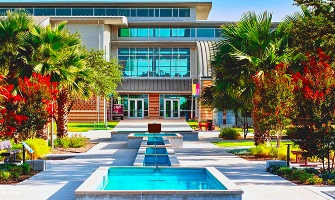 Palo Alto College is one of Alamo Colleges District's five local campuses. - TWITTER / @ALAMOCOLLEGES1
