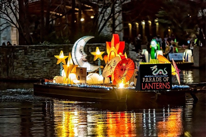 This year's the Ford Parade of Lanterns returns to the River Walk this weekend following its postponement from February. - FACEBOOK / THE SAN ANTONIO RIVER WALK