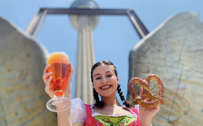Tower of the Americas will hold an Octoberfest event featuring 23 European breweries. - INSTAGRAM / TOWEROFTHEAMERICAS