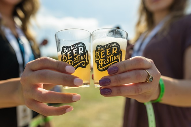 This year's San Antonio Beer Festival will take place in downtown San Antonio's Crockett Park. - JAIME MONZON FOR SAN ANTONIO BEER FESTIVAL