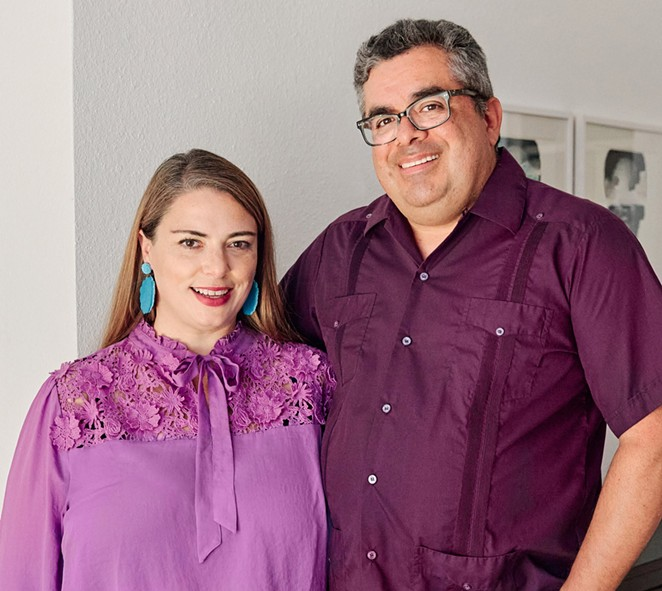 Feliz Modern co-owners Ginger and Mario Diaz recently opened Rancho Diaz at the Pearl. - RANCHO DIAZ