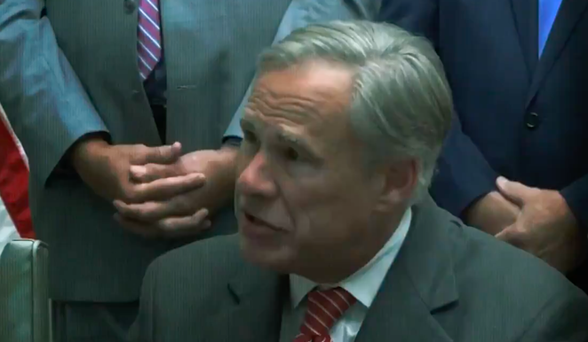 A new ad from the Lincoln Project excoriates Texas Gov. Greg Abbott over his record on protecting Texas women. - TWITTER SCREEN CAPTURE / @PROJECTLINCOLN