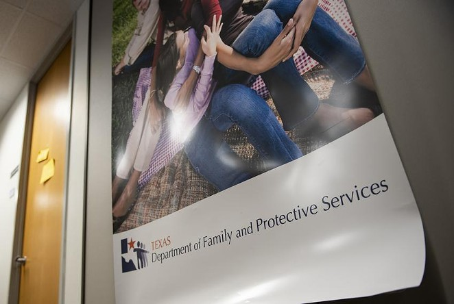 Despite persistent problems, the state's troubled foster care system isn't on the agenda for this year's third special session. - TEXAS TRIBUNE / EDDIE GASPAR