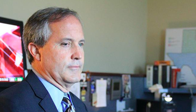 Texas Attorney General Ken Paxton is on a crusade to enforce fellow Republican Gov. Greg Abbott's orders barring government entities from requiring facemasks and vaccinations to combat COVID-19. - COURTESY PHOTO / TEXAS ATTORNEY GENERAL'S OFFICE