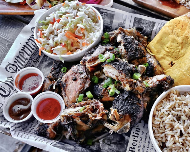 Jerk Shack owner Nicola Blaque says she expects to reopen the restaurant in a new location. - PHOTO VIA INSTAGRAM   THEJERKSHACKSATX