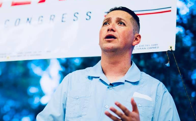 U.S. Rep. Tony Gonzales defended Border Patrol agents shown in a viral video appearing to whip the reins of the horses they were riding at Haitian migrants along the U.S.-Mexico border. - TWITTER / @TONYGONZALES4TX