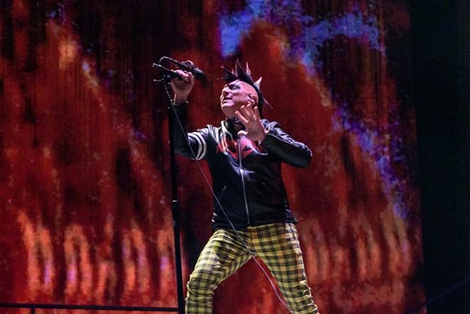 Tool singer Maynard James Keenan performs at the AT&T Center in 2019. - JAIME MONZON