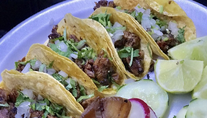 A recent survey rates San Antonio the fourth best taco city in Texas. - INSTAGRAM / TAQUITOSWESTAVE