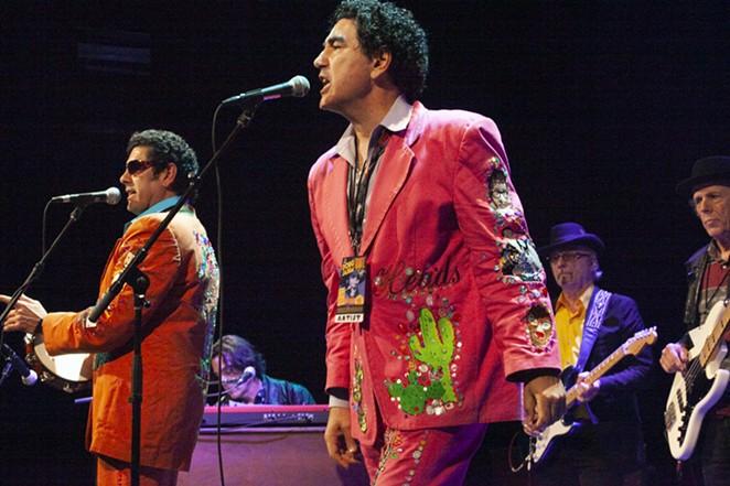 Long-running garage band the Krayolas will be among the performers at Saturday's Corn Lovers Fiesta. - JANA BIRCHUM