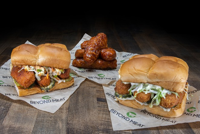 West Coast wiener chain Dog Haus now offers Beyond ChickenTenders. - PHOTO COURTESY DOG HAUS