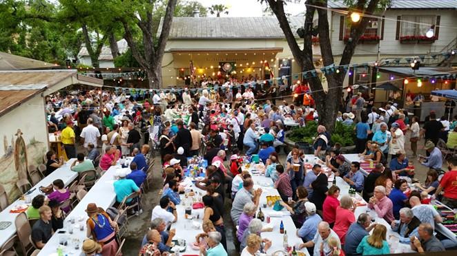 San Antonio has several biergartens perfect for celebrating Oktoberfest. - COURTESY PHOTO / BEETHOVEN HALLE