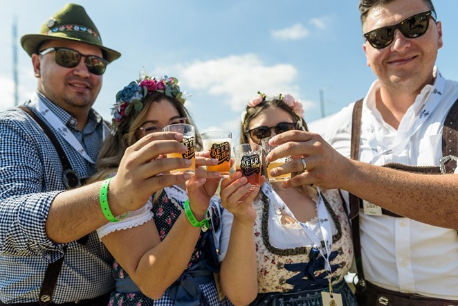 San Antonio Beer Festival is almost here — here's your survival guide to get the most out of the fest. - JAIME MONZON