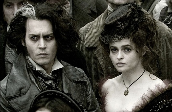 Don't worry — the Botanical Garden's screening of Sweeney Todd doesn't come with a haircut. - WARNER HOME VIDEO