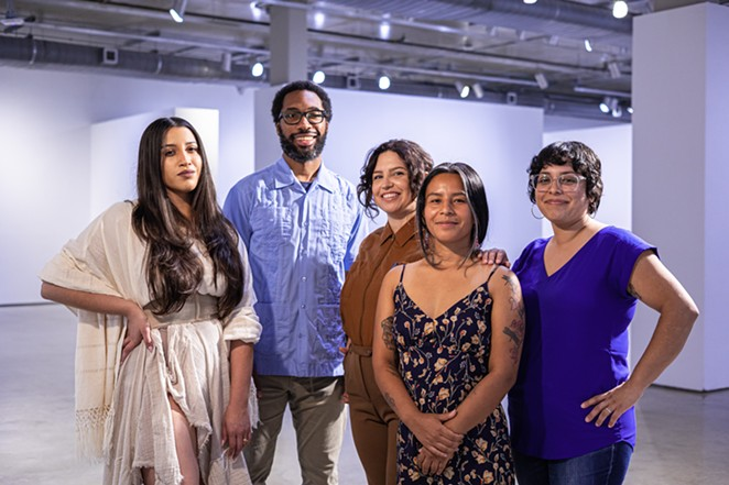 The Breathe Collective (from left: Julysa Sosa, Anthony Francis, Audrya Flores, Ceiba Ili and Suzy González) are among this year's featured artists. - CHRISTIAN MÖLLER, COURTESY OF LUMINARIA