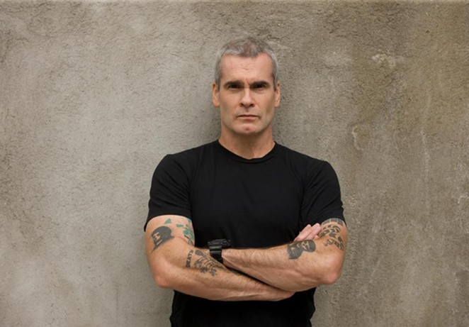 Henry Rollins likes to talk, and that's what he'll be doing at the Tobin Center come next spring. Photo credit: Heidi May - FACEBOOK / HENRY ROLLINS, HEIDI MAY