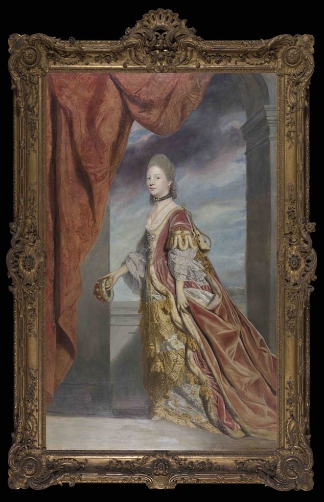 Sir Joshua Reynolds (English, 1723–1792), Mary, Lady Arundell of Wardour, ca. 1767–1768, Oil on canvas, 95 x 58 in. (241.3 x 147.3 cm), Purchased with funds provided by the Sarah Campbell Blaffer Foundation, 81.74 - COURTESY OF SAN ANTONIO MUSEUM OF ART