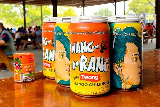 San Antonio-based Twang has partnered with Martin House Brewing Co. for Twang-a-Rang, a mango chili beer. - PHOTO COURTESY MARTIN HOUSE BREWING CO.