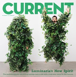 THE CURRENT'S LUMINARIA 2014 COVER FEATURING LOCAL ARTIST JIMMY JAMES CANALES