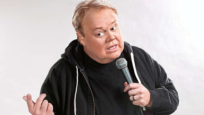 Emmy-Award winning comedian Louie Anderson (FX's Baskets) will make a tour stop at the Tobin Center for the Performing Arts on Sunday, March 26. - COURTESY