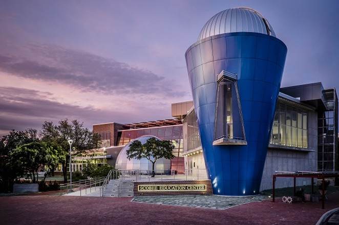 The Scobee Planetarium and Education Center at San Antonio College. - PHOTO CREDIT: MARK SOBHANI