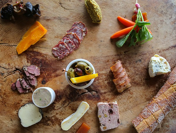 Charcuterie from Andrew Weissman's Signature - PHOTOS BY @S.A.VORTOOTH
