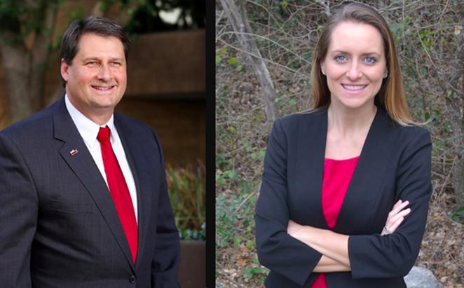 District 9 candidates Van Holen and Wallace - PATRICKVANDOHLEN.COM, FACEBOOK.COM