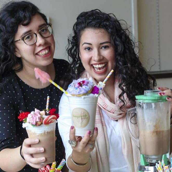 Olivia (left) and Sara (right) Hinojosa of Honeysuckle Tea Time. -  PHOTO COURTESY OF SARAH COOPER