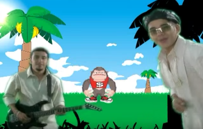 YOUTUBE, BAILE DE LA GORILLA