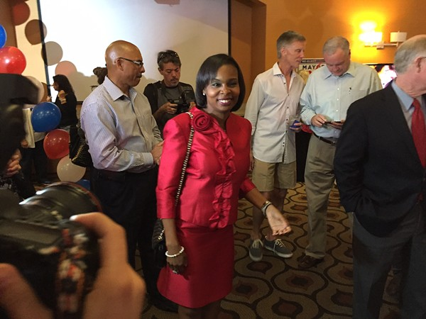 Mayor Taylor heads to a June 10 runoff with Ron Nirenberg - MICHAEL BARAJAS