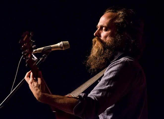 Sam Beam (aka Iron and Wine) performing. - PHOTO BY: THOMAS WADE JACKSON