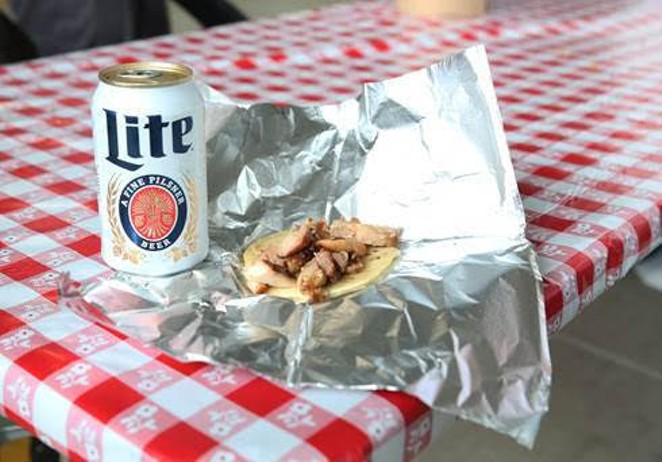 Courtesy of Miller Lite Father's Day Taquiza
