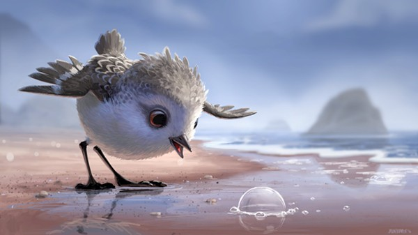 PIPER, COURTESY OF PIXAR ANIMATION STUDIOS
