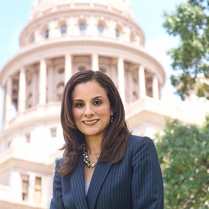 State Rep. Ina Minjarez of San Antonio - FACEBOOK.COM/VOTE4INA