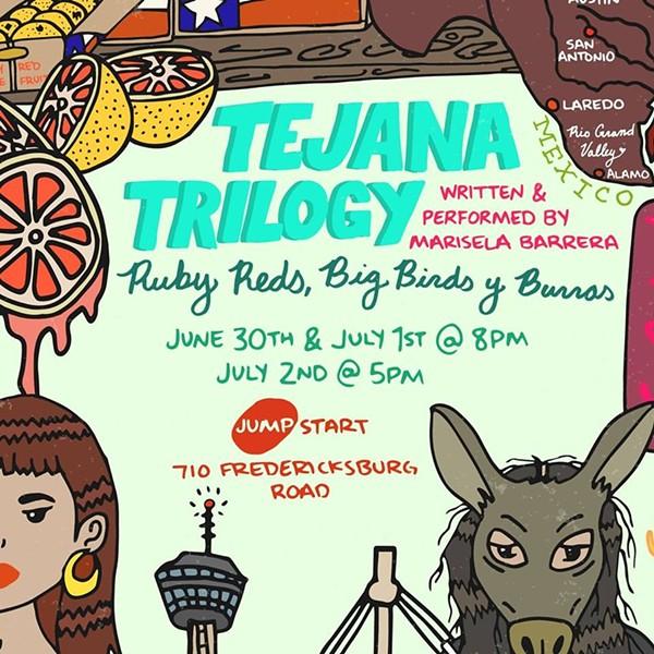 VIA FACEBOOK, TEJANA TRILOGY. ILLUSTRATION BY ISABEL ANN CASTRO
