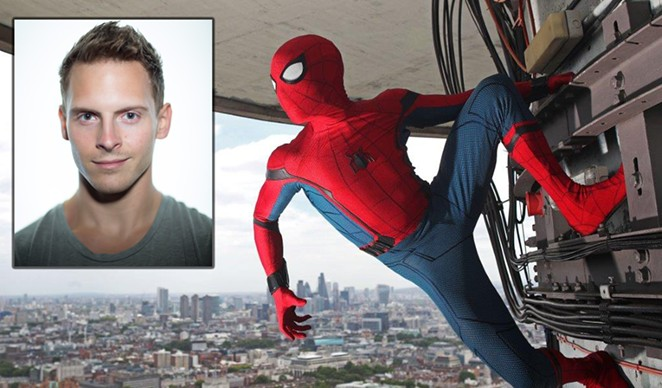 Churchill High School graduate Chris Silcox was tapped last year to be one of three stunt doubles for Spider-Man in the newest film of the franchise, Spider-Man: Homecoming. - MARVEL STUDIOS/IMDB.COM